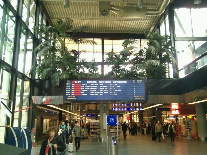 Gare CFF de Genève-Aéroport - The train station at the #Geneva airport