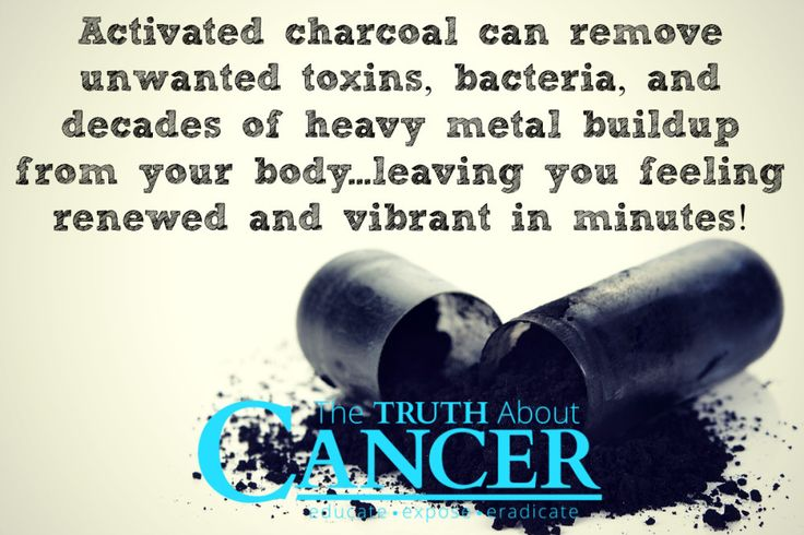 Detoxification is the foundation of an anti-cancer lifestyle. Activated charcoal is one of the most effective methods. Click on the image to learn more or pin to save for later! // The Truth About Cancer