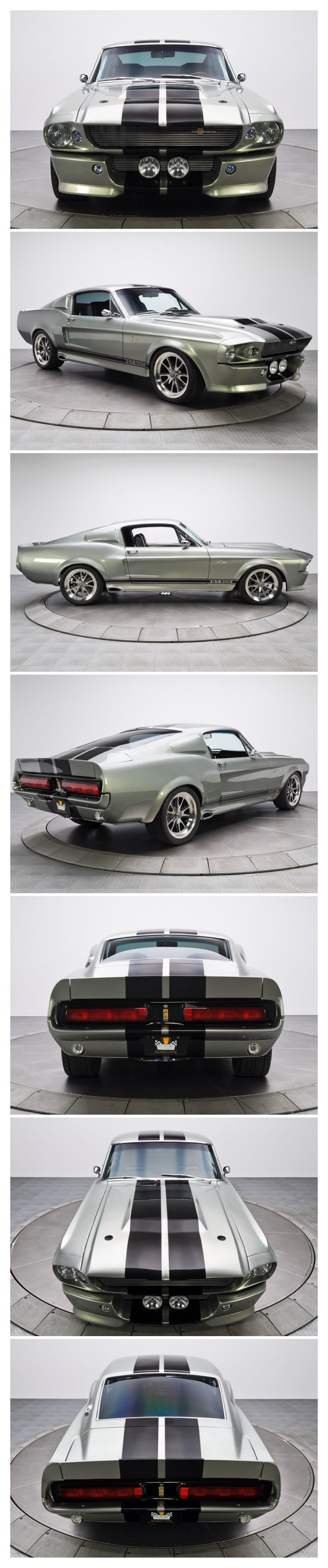1967 Ford Shelby Mustang GT500 ELEANOR: Original Movie Car up for Sale One of the original 1967 Mustang Shelby GT500 Eleanor that starred inu2026