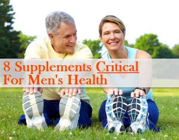 Along with maintaining a healthy diet and exercising regularly, these eight herbs and supplements are worth taking to support men's health.