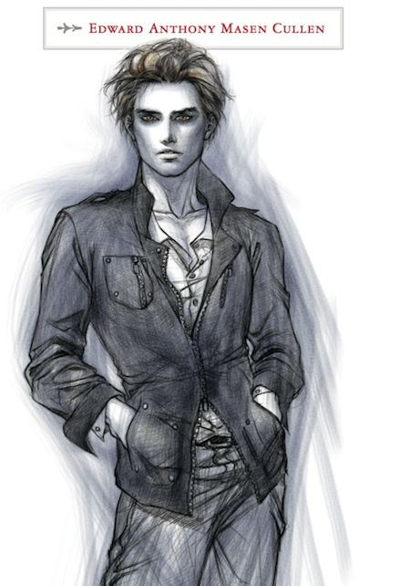 Edward Cullen The Twilight Saga Official Illustrated Guide: