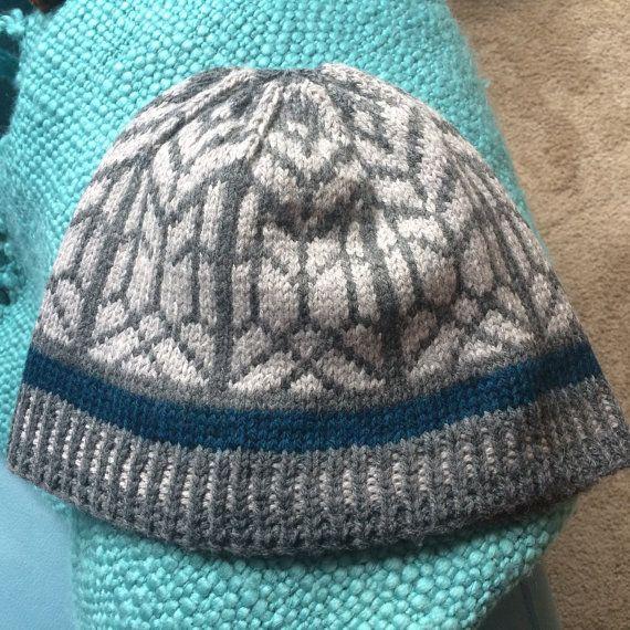 Hand-Knit New Zealand Merino Beanie Hat  Men's or