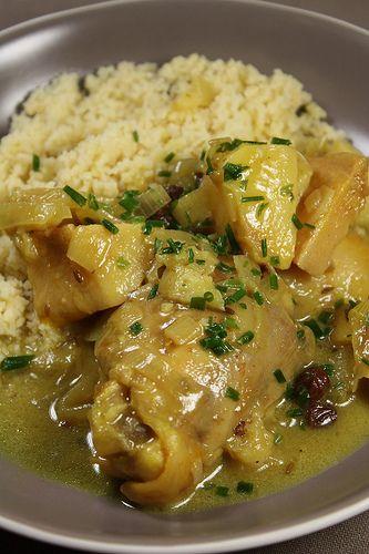 Tajine de poulet aux coings maroc viandes
