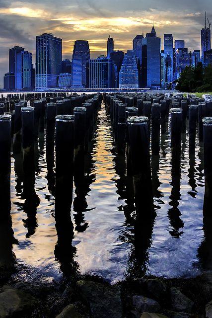 Downtown Manhattan, New York City  (by Ron Diel)