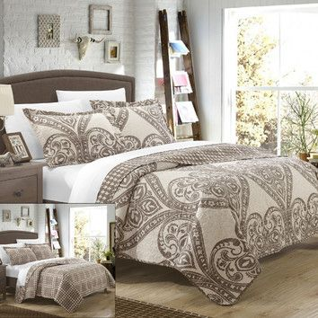 You'll love the Napoli 3 Piece King Quilt Set at Joss & Main - With Great Deals on all products and Free Shipping on most stuff, even the big stuff.