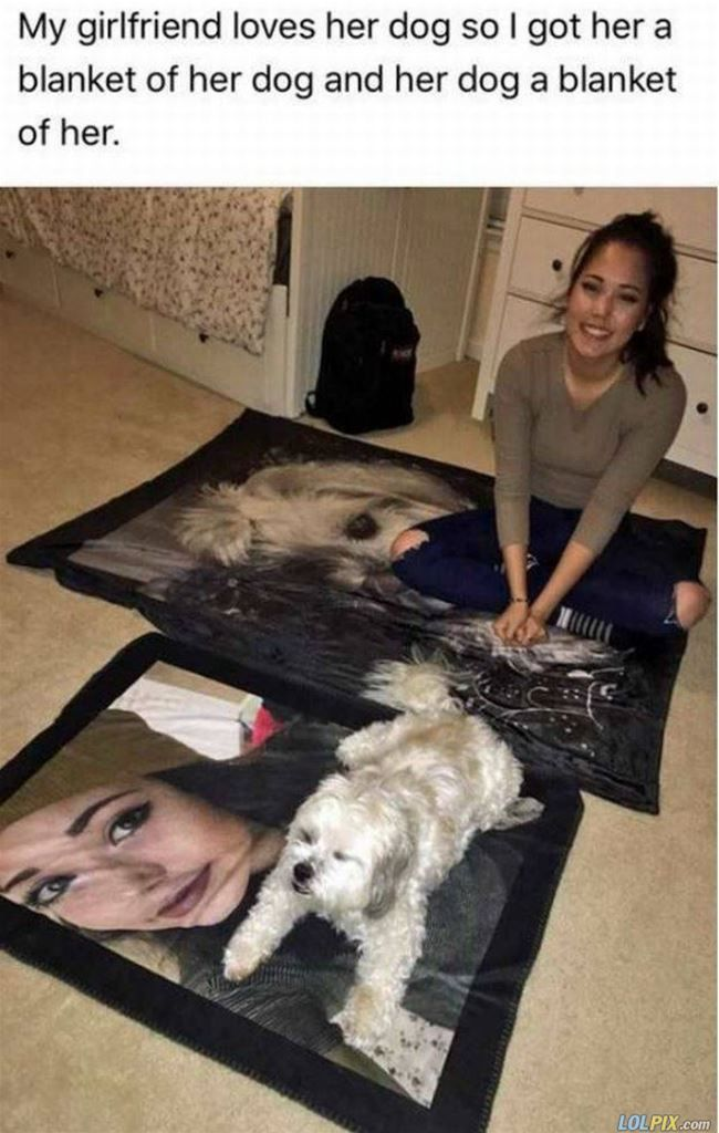 Girlfriend and her dog #humor #funny