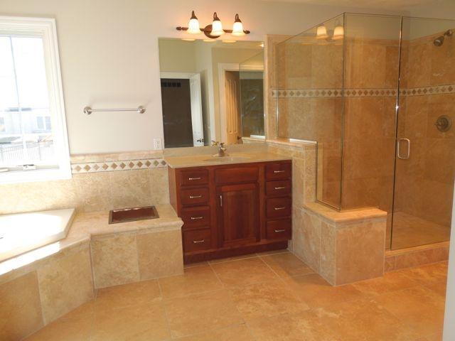 Corner Tub And Separate Shower Bathroom Ideas Pinterest