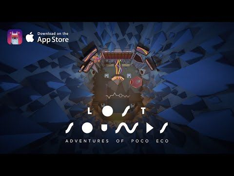 Adventures of Poco Eco: Lost Sounds - Available in the App Store! - YouTube