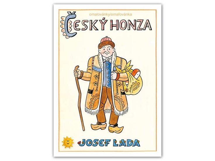 Český Honza (Czech John).. Cover made by Josef Lada - famous czech artist