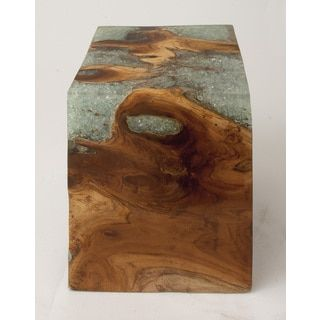 Teak Wood Resin Foot Stool by Studio 350  Furniture OutletOnline. 60 best images about ottoman on Pinterest   Round ottoman  Wool