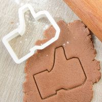 "Cookie cutter ""Like logo"""