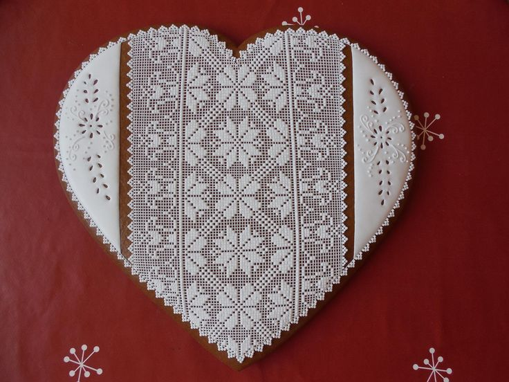 Medovník srdce 25 cm Gingerbread Lebkuchen
