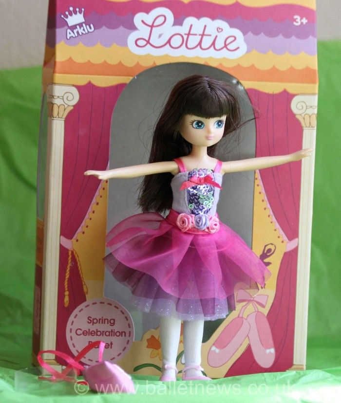 Lottie is a ballet doll designed for children aged 3+. She comes in a box wrapped with green tissue paper and is the result of a year of research and development with scientific expertise from leading British academics, with consumer research, specifically to address parental concerns about other fashion dolls including negative body image and the company wanted a return to creative and imaginative play, with Lottie.