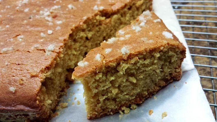 Eggless Ginger Gur (jaggery) Cake