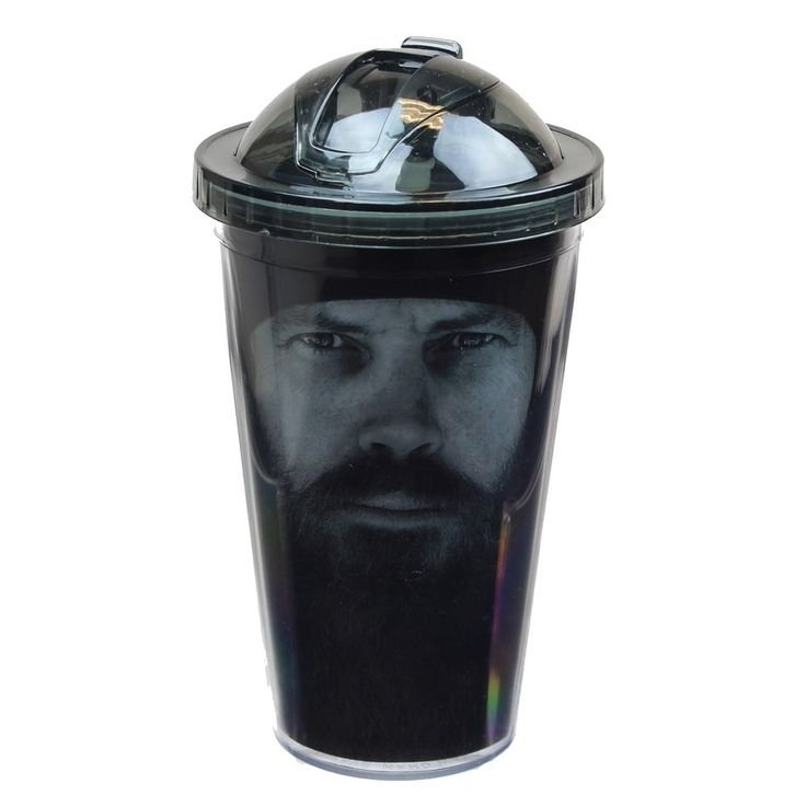 Just Funky Duck Commander Jase Face 18oz Carnival Cup, Multi-Colored (Plastic)
