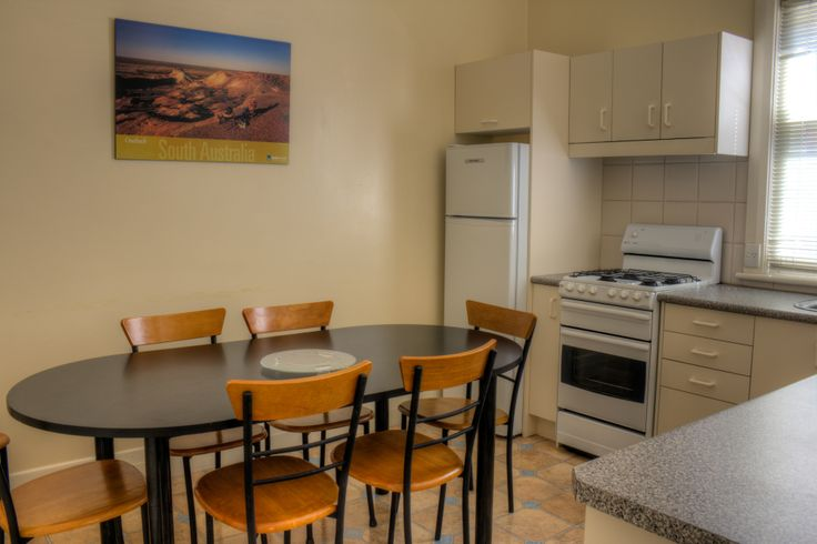 Our 2 bedroom budget family suites are spacious, homely & just minutes from the beach and Jetty Road. #accommodation #glenelg #kitchen #southaustralia #bayview