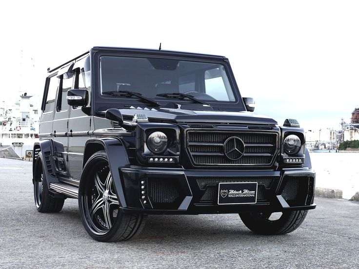 Mercedes benz g class wald black bison edition want one for Mercedes benz matte black g wagon