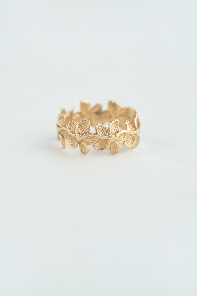 Eternity Flower Ring