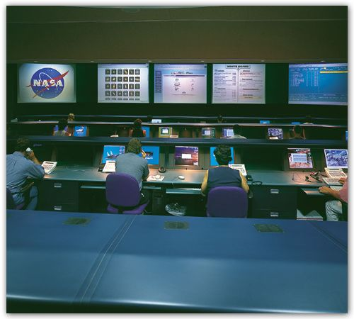 Space Operations Consoles  with Rear Projection-1