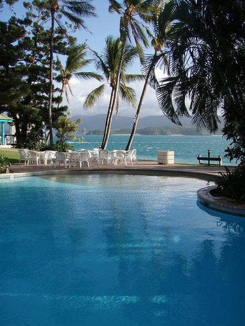 Resort on Daydream Island in the Whitsundays, Australia #travel