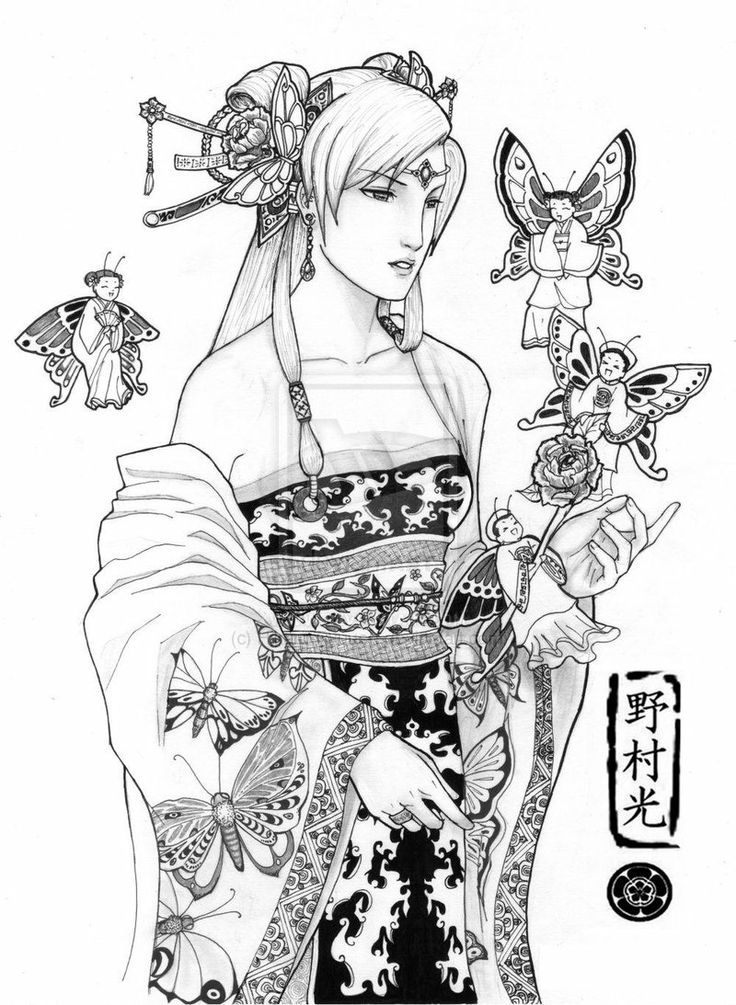 The Butterfly Empress by Hikaru-Ryuuen.deviantart.com on @deviantART