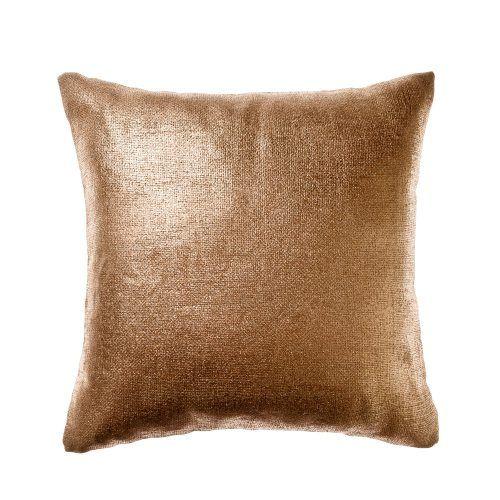 Home Republic Precious Metal Cushion Rose Gold, metallic cushion, copper cushion
