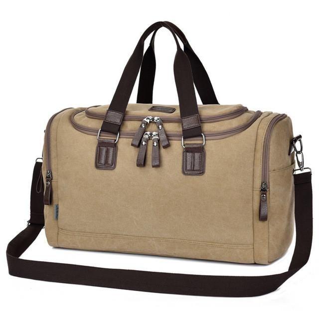 Vintage Canvas Travel Crossbody Bag   Furrple