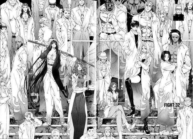 #Tenjou Tenge #manga