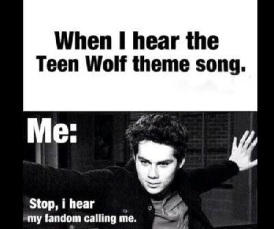 Teen Wolf Theme Song Fandom