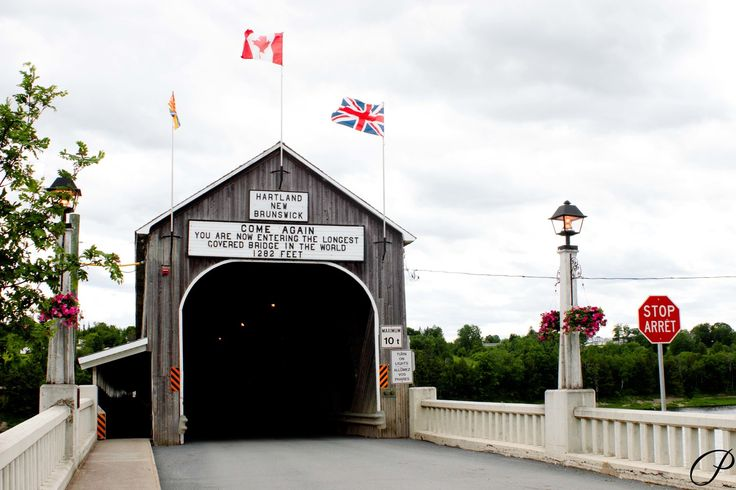The longest covered bridge in the world, New Brunswick