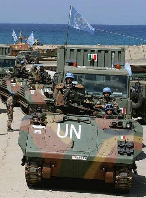 The Italian army in Lebanon
