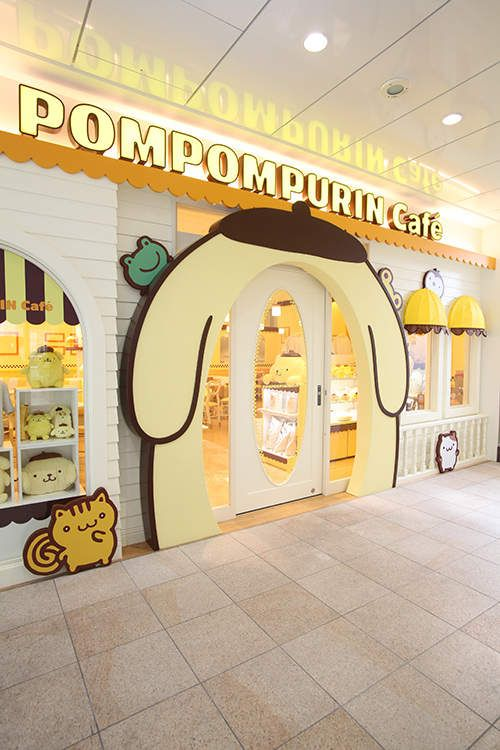 Kawaii pom pom purin restaurant in Harajuku, Tokyo. It's so cute there and the food is beautiful and tasty. Yum! <3