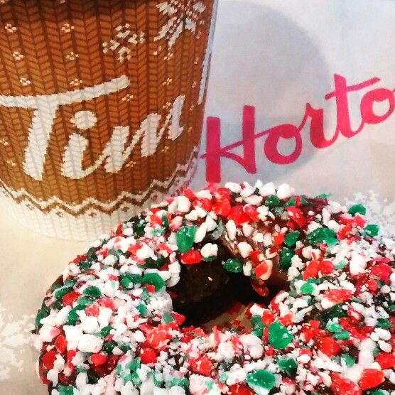 Tim Hortons #canada #donuts #chocolate
