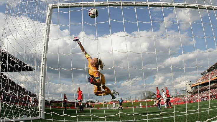 Women's World Cup Canada 2015 Norway-England -- Lucy Bronze of England scores the team's second goal