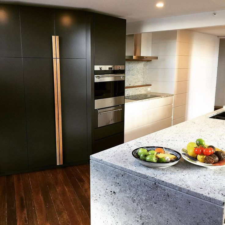 what an amazing contrast of textures and neutrals by granite is on point with some scyon stria the kitchen