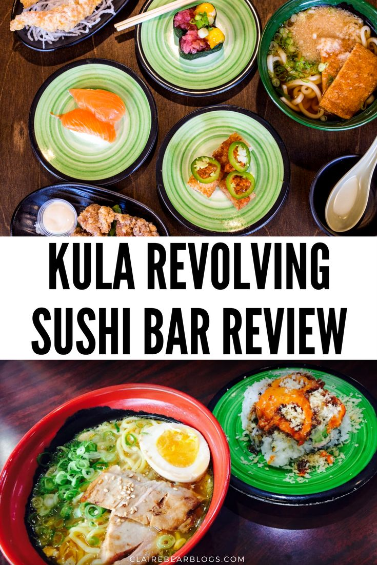 Kula Revolving Sushi Bar Review | Houston Sushi Restaurant | Conveyor Belt Sushi Restaurant | Where To Eat In Houston | Clairebear Blogs