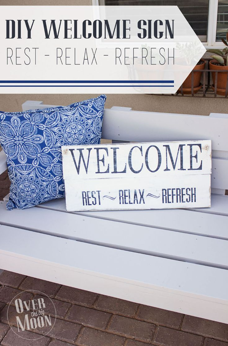 29 best images about Welcome Signs on Pinterest | Primitive crafts ...
