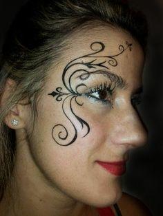 Pinturas faciais- adulto