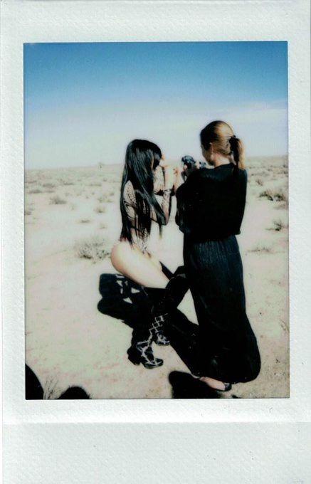 """See my exclusive polaroids: Sasha Samsonova Shoot"" - thekyliejenner.com"