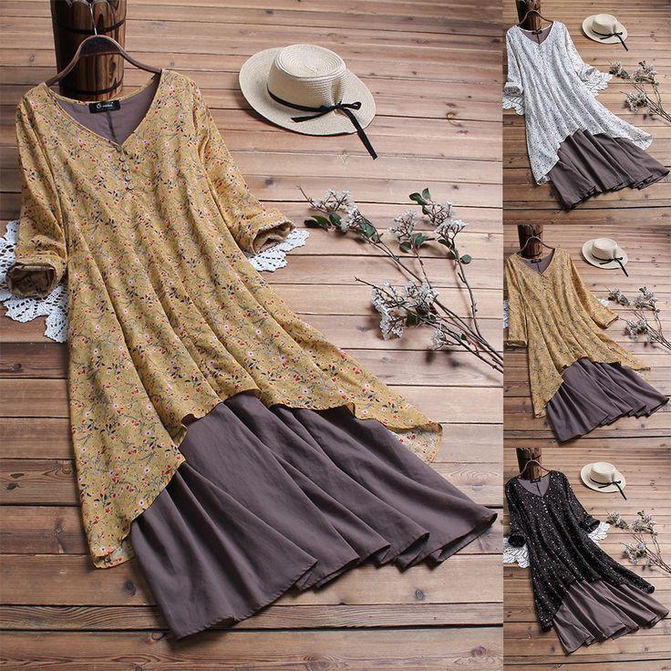 Hot salePrint Bohemian Maxi Patch Sleeveless V Neck Dress Cheap – NewChic Mobile