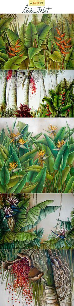 Tropicalismo e a arte de Leila Tebet