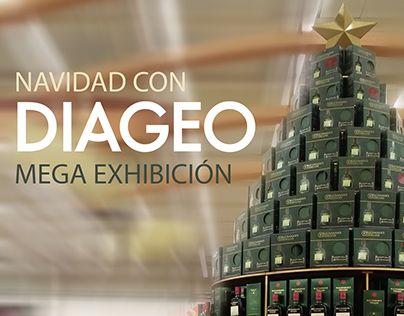 Mega exhibición - Diageo