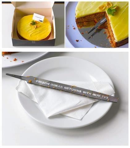 Prison Break - clever advertising