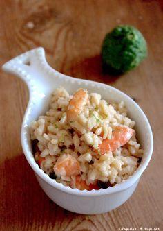 Ce risotto avec son lait de coco, ses crevettes et son citron vert a vraiment des accents asiatiques. Un chouette mélange entre l'Italie et la Thaïlande. La recette est facileet constitue un…