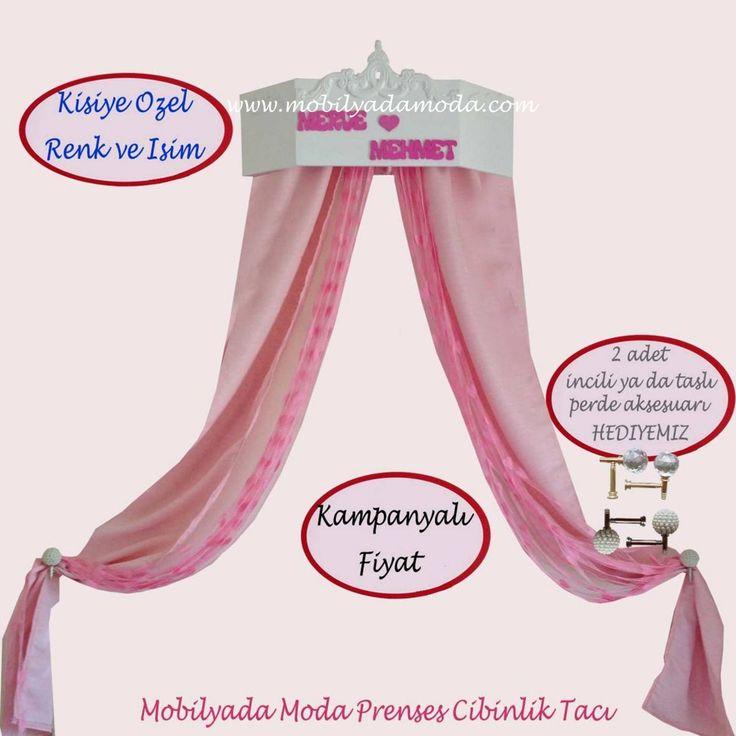 Mobilyada Moda TasarımI Princess Cibinlik Tacı ŞOK FİYATI ile websitemizde SATIŞTA!!! http://www.mobilyadamoda.com/Princess-Cibinlik-Taci,PR-470.html
