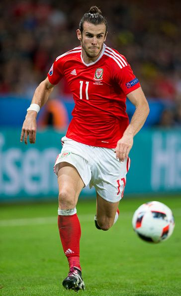 #EURO2016 Wales's Gareth Bale in action during the UEFA Euro 2016 Quarterfinal match between Wales and Belgium at Stade Pierre Mauroy on July 01 in Marseille...