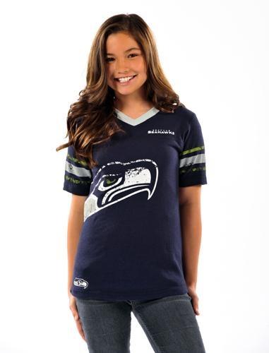 Youth Girls Jersey Fan Tee: Seahawks Pin, Girls Jersey, Fans Tees, Kids Style, Finals Pick, Jersey Fans, Girls Seahawks, Games Faces, Seahawks Girls