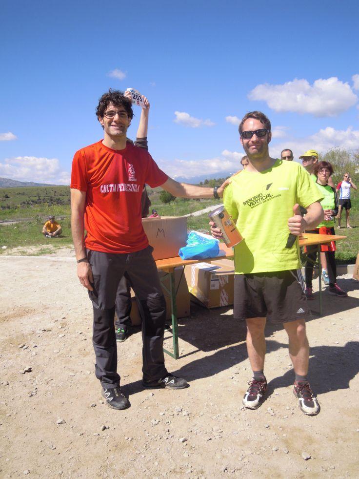 El tercer agraciado con un pack Cantio en la Pedrezuela Trail, dentro de la Copa de Carreras por Montaña de la Federación Madrileña