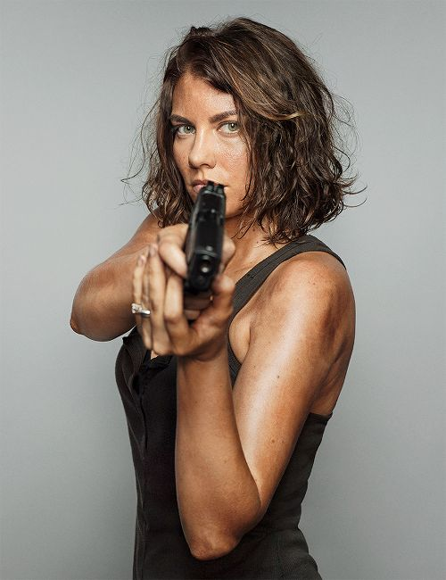 Lauren Cohan as Maggie Greene photographed by Dylan Coulter for EW 2014
