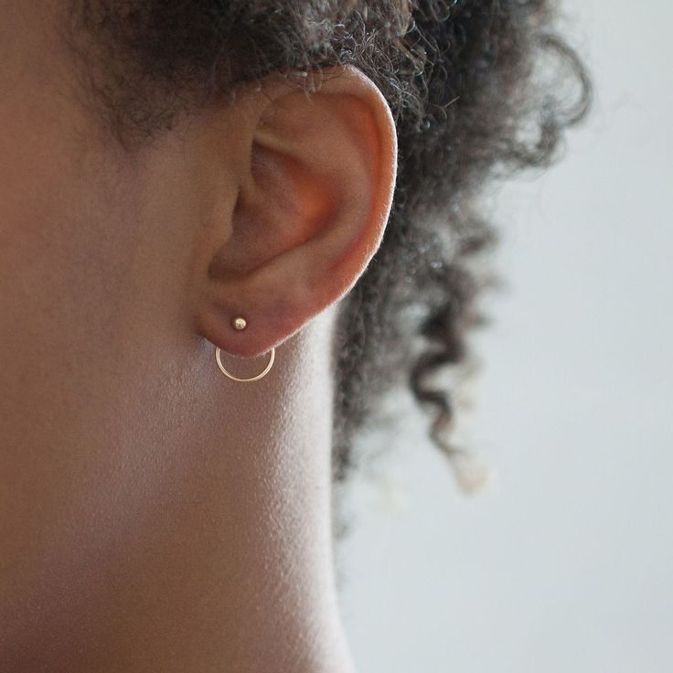 Ear Nut Earring, Jack+G